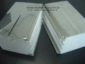 Painel frigorifico 2 faces EPS aço inoxidável 430