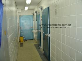 Portas frigorificas giratórias para congelados
