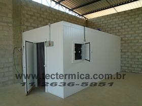 Câmara frigorifica para amadurecimento artificial