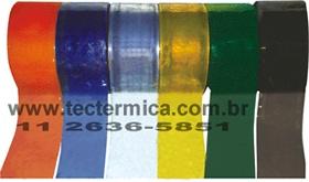 Tiras de PVC para confecção da cortina transparente