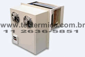 Equipamento de refrigeração plug-in para câmara frigorifica - Fixado na parede