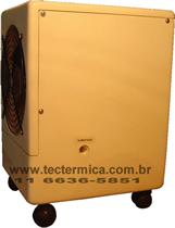 Umidificador empregado no controle da umidade da adega climatizada