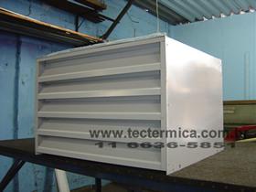 Equipamento para climatização de adega - Carenagem para condensadora modelo 1