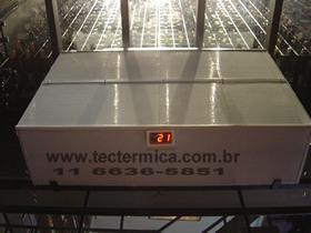 Equipamento para climatização de adega - Carenagem para evaporadora modelo 1