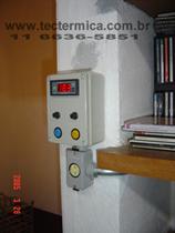 Equipamento para climatização de adega - Painel de controle modelo 1