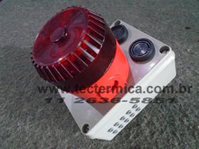 Alarme frigorifico da NR36 - Modelo SRM - Sinalização remota