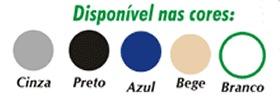 Porta de impacto - Paleta com as cores disponíveis