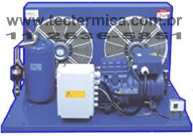Unidade condensadora semi-hermética industrial - Modelo 3