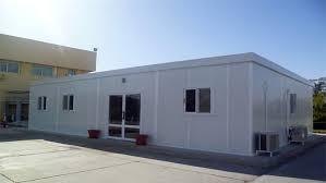 Painel frigorifico utilizado na construção de escritórios comerciais